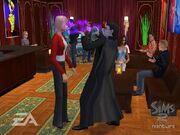 Vampiro de Los Sims 2.