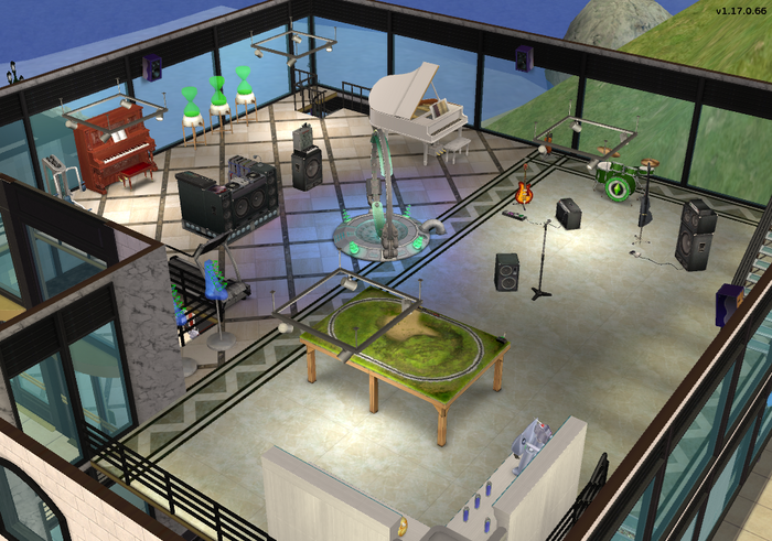 Amar's Clothing and Instruments third floor isometric 1