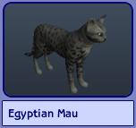 Egyptian Mau (Sims 2)