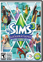 The Sims 3 Generations Cover