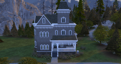 Wolfsbane Manor front