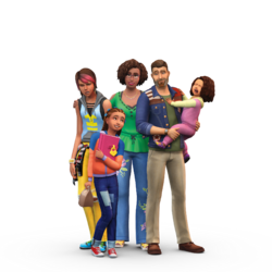 Les Sims 4 Être parents render 01