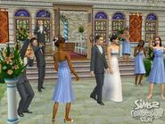 The Sims 2 Wedding Photo 2