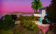 Amazing view island paradise
