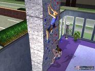Max Toane rock climbing