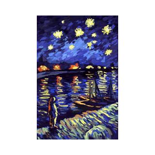 «<i>Звёздная ночь За Роны</i>» Винсента Ван Гога