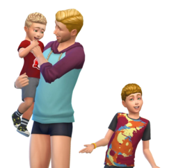 Flynn family (The Sims 4)