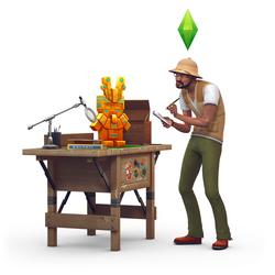 Les Sims 4 Dans la jungle Render 03