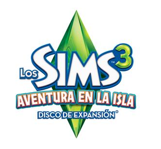 Los Sims 3 Aventura en la Isla Logo