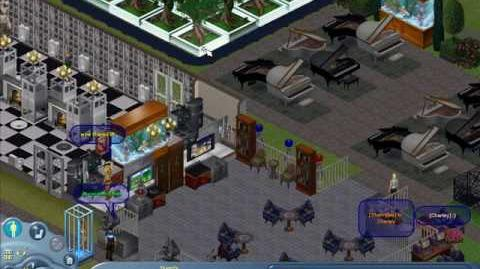 The Sims Online gameplay.