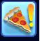 Trait Amateur de pizzas