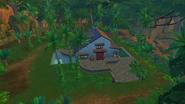 Бунгало в джунглях