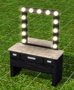 Behind The Curtain Vanity by Reserve & Reflect