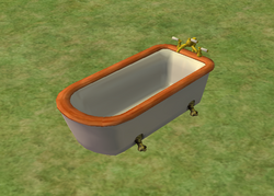 Ts2 colonial bathtub by imperial plumbing works