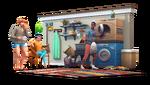 Les Sims 4 Jour de lessive Render 01
