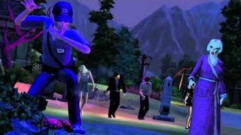 Los Sims 3 - Criaturas Sobrenaturales - Trailer Oficial HD