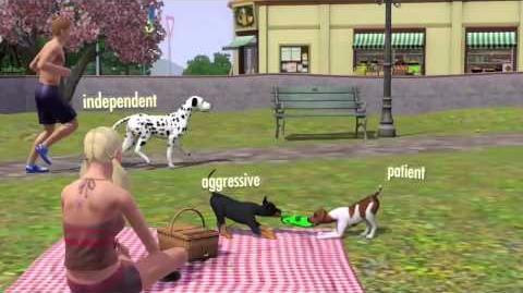 Los Sims 3 Mascotas Tráiler oficial