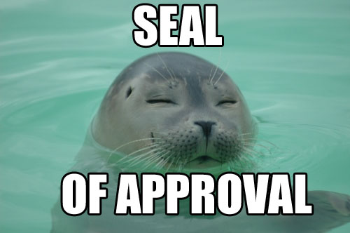 File:Seal of approval.jpg