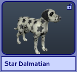 Star Dalmatian (Sims 2)