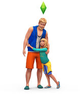 The Sims 4 Parenthood Render 05