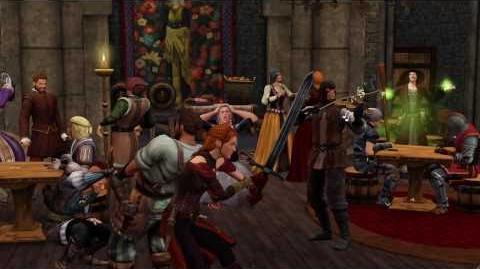 Trailer Los Sims Medieval
