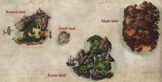 Eilanden Kaart
