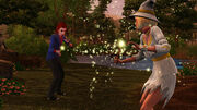 TS3 supernatural witch duel