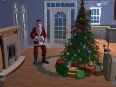 The Sims 2-Juletrefest-Julenissen