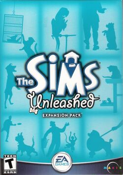 The Sims Unleashed Cover