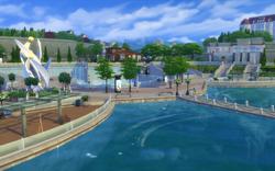 Modern District waterfront