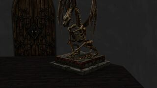 Reconstructed Baby Dragon Skeleton