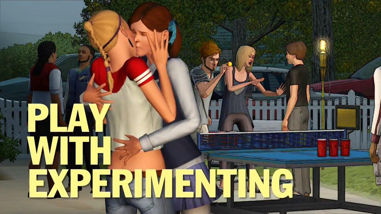 The Sims 3 University Life Trailer 8 Jpg