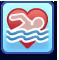 Trait Loves to Swim