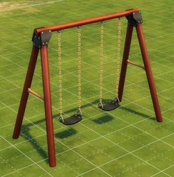 Gravity-Powered Swing