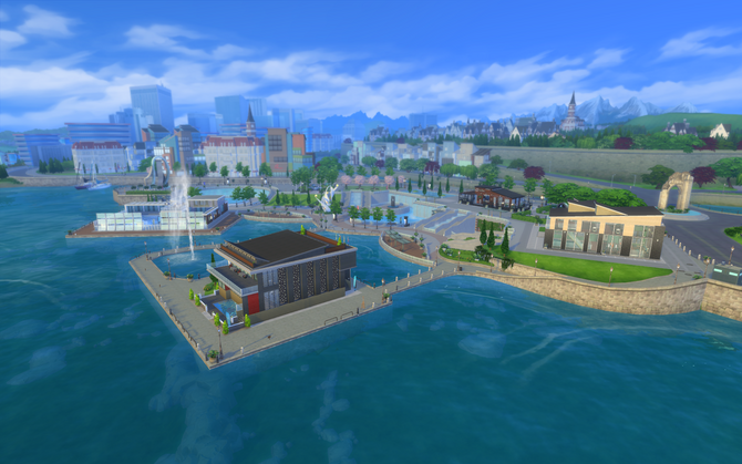 Modern District overview
