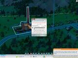 Central de carbón de SimCity (2013)