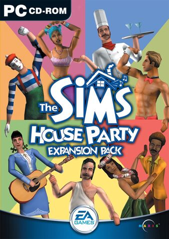 File:The Sims House Party Cover.jpg