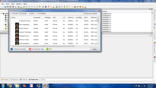 File:Sim Browser - SimPE.png