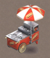 Sims 1 hot dog stand