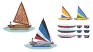 TS4 EP07 Canoes concept art