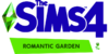 The Sims 4 Romantic Garden Stuff Logo
