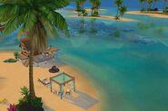 Песочный пляж «Симолеон» (крыша)