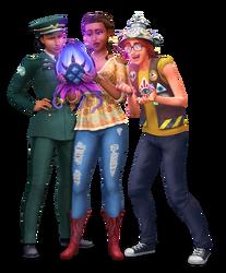 Les Sims 4 StrangerVille Render 01