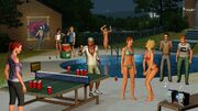 Sims pool party