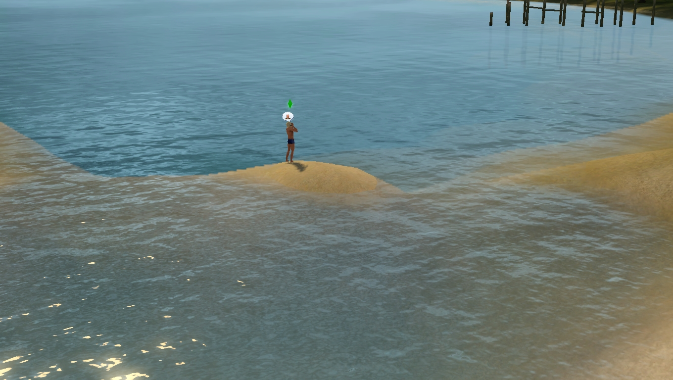 sims stranded