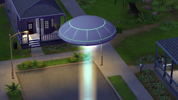 Alien Ship TS4