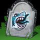 Dood door gevecht met haai