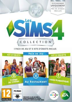 Packshot Les Sims 4 Collection 3