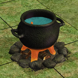Sim Name's Dangerous Cauldron