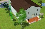 The Sims 3 - Marvin Madison's house Back